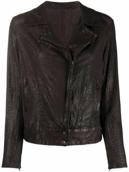 Salvatore Santoro куртка на молнии с тиснением 38005