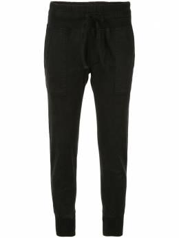 James Perse укороченные брюки кроя слим WHVJ1677