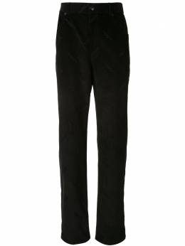 Alexander Wang вельветовые брюки с принтом и логотипом 6WC1204023