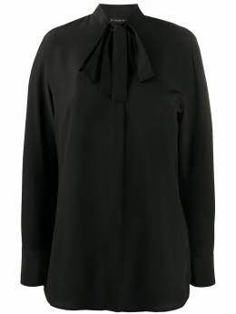 Etro блузка с завязками на воротнике 135598504