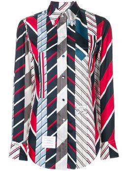 Thom Browne полосатая рубашка FLL005A06079