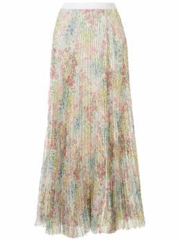 Giambattista Valli плиссированная юбка с цветочным принтом 20SSRVCI210901FGP1543