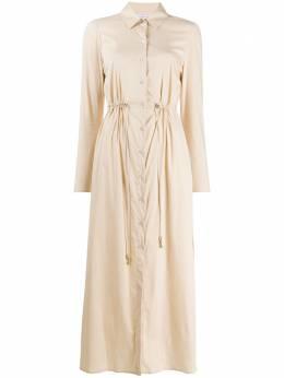Patrizia Pepe платье-рубашка с кулиской 2A2107A23
