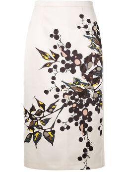 Rochas юбка-карандаш с цветочным принтом ROPQ352064RQ440930