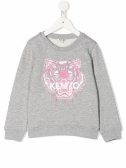Kenzo Kids толстовка с вышивкой KQ15178