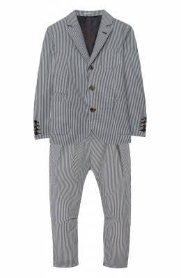 Костюм из пиджака и брюк Brunello Cucinelli BD487A102B