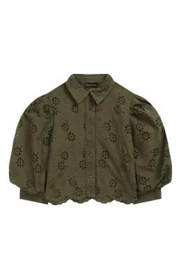 Хлопковая блузка Jakioo 495304