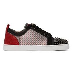 Christian Louboutin Multicolor Louis Junior Spike Orlato Sneakers 1200297
