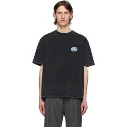 Balenciaga Black EU BB T-Shirt 594579-THV59-1140