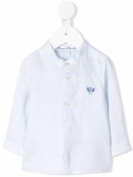 Tartine Et Chocolat полосатая рубашка с вышитым логотипом TQ12141