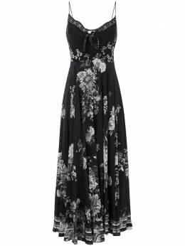Camilla платье Moonshine Bloom с завязками 00005386