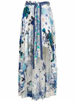 Camilla юбка White Moon асимметричного кроя с принтом 00003692