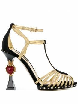 Dolce&Gabbana декорированные босоножки CR0508AN210