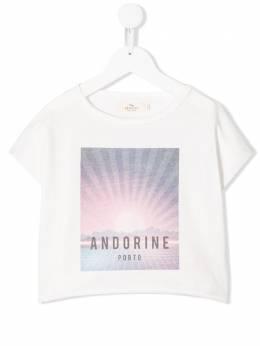 Andorine футболка с графичным принтом ADS2030A