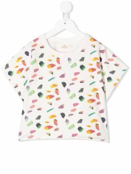 Andorine футболка с геометричным принтом ADS2023B