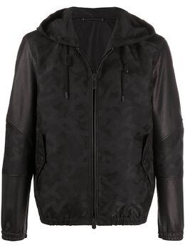 Ermenegildo Zegna Xxx куртка с принтом в тон CUC337U113