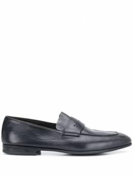 Ermenegildo Zegna лоферы с миндалевидным носком LHAFRA4001X