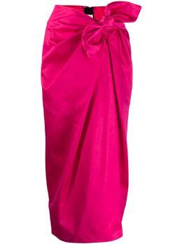 Marni юбка с узлом GOMA0275Y0TCY63