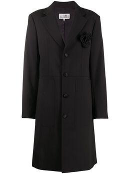 Mm6 Maison Margiela однобортное пальто S62AH0026S52747
