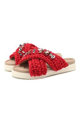Текстильные шлепанцы Inuikii 70104-6