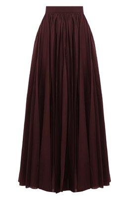 Хлопковая юбка Alaia AB9J359TT254
