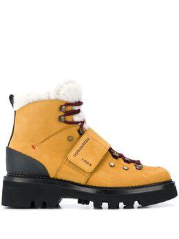 Dsquared2 ботинки Canadiana на шнуровке ABM004009700001