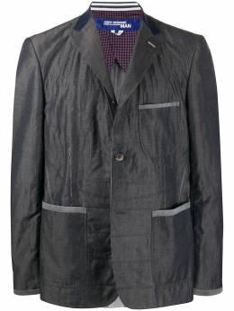 Junya Watanabe Man однобортный пиджак оверсайз WEJ011