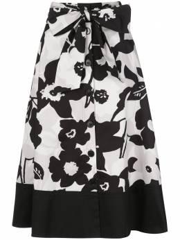 Natori юбка А-силуэта на пуговицах K87028