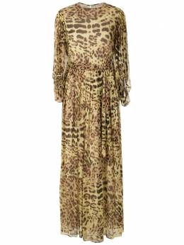 Adriana Degreas платье с леопардовым принтом VTLG0522V20