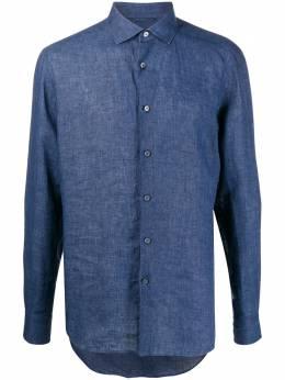 Ermenegildo Zegna рубашка с длинными рукавами UUX38SRF5