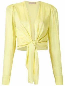 Adriana Degreas рубашка с завязками CAAF0074V20
