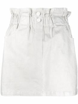 8Pm юбка с эффектом металлик и эластичным поясом DP8PM01G90