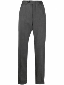 Gucci Pre-Owned укороченные брюки строгого кроя MZ1911551