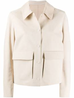 Yves Salomon куртка на кнопках 20EYV20855APDF