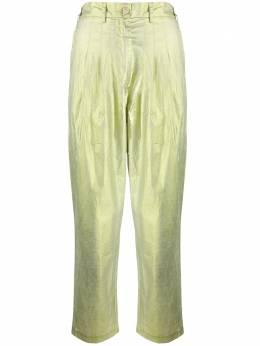 8Pm брюки с эффектом металлик D8PM01P67