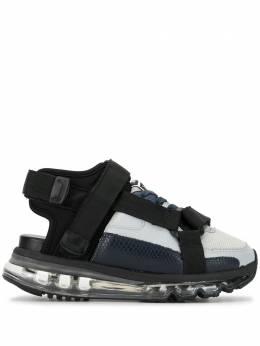 Maison Mihara Yasuhiro кроссовки на липучках A04FW718