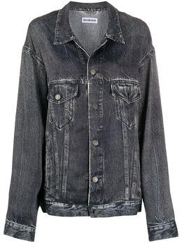 Balenciaga джинсовая куртка оверсайз 621574TIW57