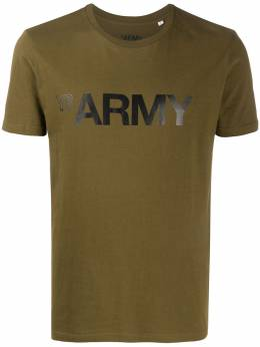 Army Yves Salomon футболка с принтом 20EFH03569H20W