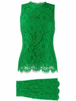 Dolce&Gabbana Pre-Owned ярусное кружевное платье E1000600
