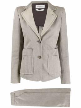 Yves Saint Laurent Pre-Owned костюм-двойка с однобортным пиджаком C30150306
