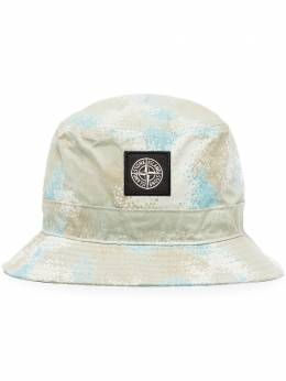 Stone Island панама Multicoloured Burnout с логотипом MO7215993EE
