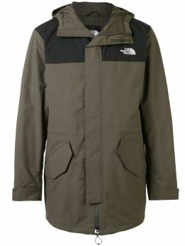 The North Face пальто City Breeze с капюшоном NF0A4ALMBQW