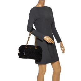 Prada Black Nylon Medium Shoulder Bag 285779