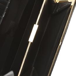 Gucci Black Patent Leather Clutch Bag 285275