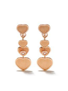Chopard серьги Happy Hearts - Golden Hearts из коллаборации с 007 83A7075029