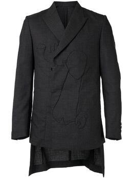 Undercover двубортный пиджак узкого кроя UCY41051