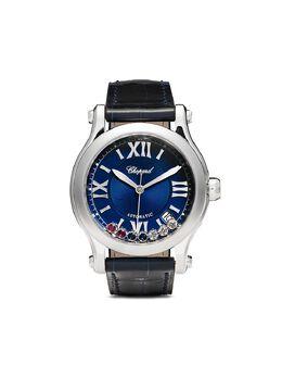 Chopard наручные часы Happy Sport London 35 мм ограниченной серии 2785593023