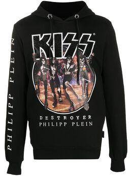 Philipp Plein худи с принтом Kiss P20CMJB1912PJO002N