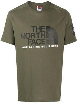 The North Face футболка с логотипом NF0A4M6NBQW1