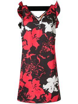 No. 21 платье без рукавов с цветочным принтом 20EN2P0H0225241